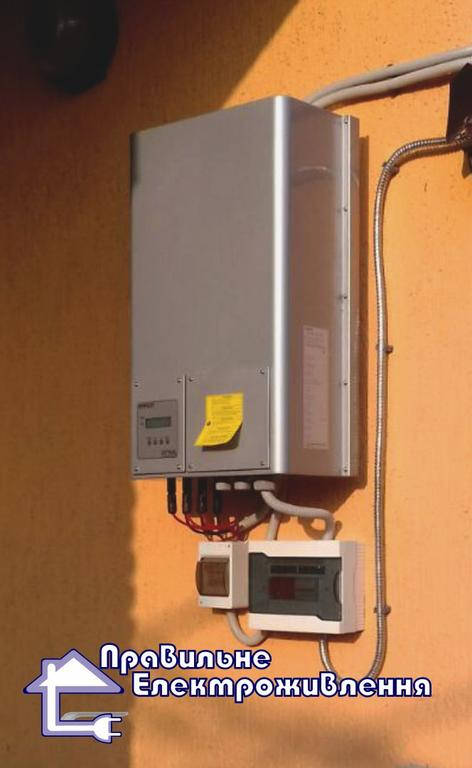 Мережева сонячна електростанція 10 кВт с. Новий Витків