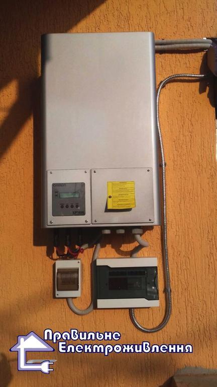 Мережева сонячна електростанція 10 кВт с. Новий Витків 2