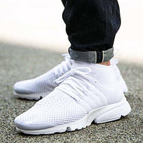 Мужские кроссовки Nike Air Presto Ultra Flyknit All White 835570-100, Найк Аир Престо, фото 2