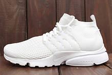Мужские кроссовки Nike Air Presto Ultra Flyknit All White 835570-100, Найк Аир Престо, фото 3
