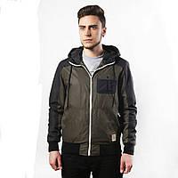 Куртка, ветровка, бомбер, демисезонная, мужская, весенняя, осенняя