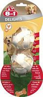Шарики 8 in 1 Delights Balls M для собак жевательные, с куриным мясом, 2 шт