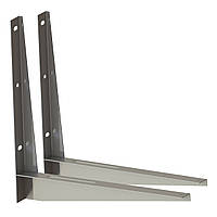 Оцинкованный кронштейн (толщина 2 мм) для монтажа наружного блока кондиционеров . ТМ Кольчуга (Kolchuga)