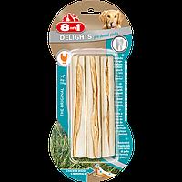 Палочки 8 in 1 Dental Delights Sticks для собак жевательные с мясом, чистка зубов, 3 шт