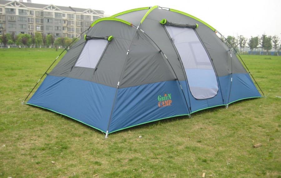 Палатка четырехместная Green Camp1100