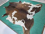 Шкіра буйвола велика з шоколадними плямами, фото 7