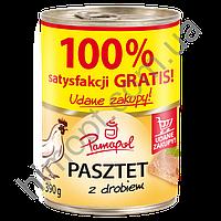 Паштет куриный Pamapol, 390 гр.