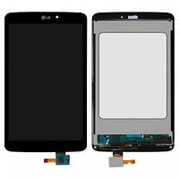 Дисплей (LCD) LG V500 G Pad 8.3 с сенсором черный