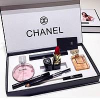 Подарочный набор CHANEL PRESENT 5 в 1 (Шанель)