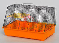 Клетка Щурик  для грызунов, неразборная 570х300х340 мм