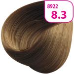 Стойкая СС крем-краска для волос KRASA с маслом амлы и аргинином тон 8.3 Светлый блондин золотистый