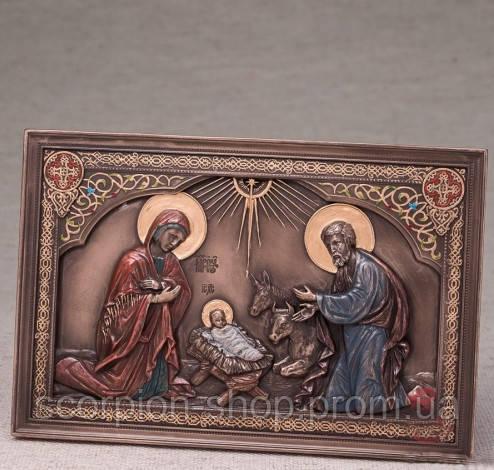 """Икона """"Рождение Иисуса"""" (23*15 см)"""
