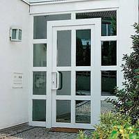 Нестандартные металлопастиковые двери Rehau Нестандарт от Дизайн Пласт®