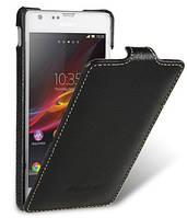 Кожаный чехол Melkco для Sony Xperia SP C5303 черный, фото 1