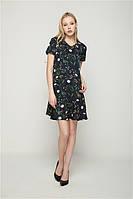 Летнее платье цветочный  принт, фото 1