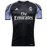 Футбольная форма 2016-2017 Реал Мадрид (Real Madrid), Adidas, резервная, черная