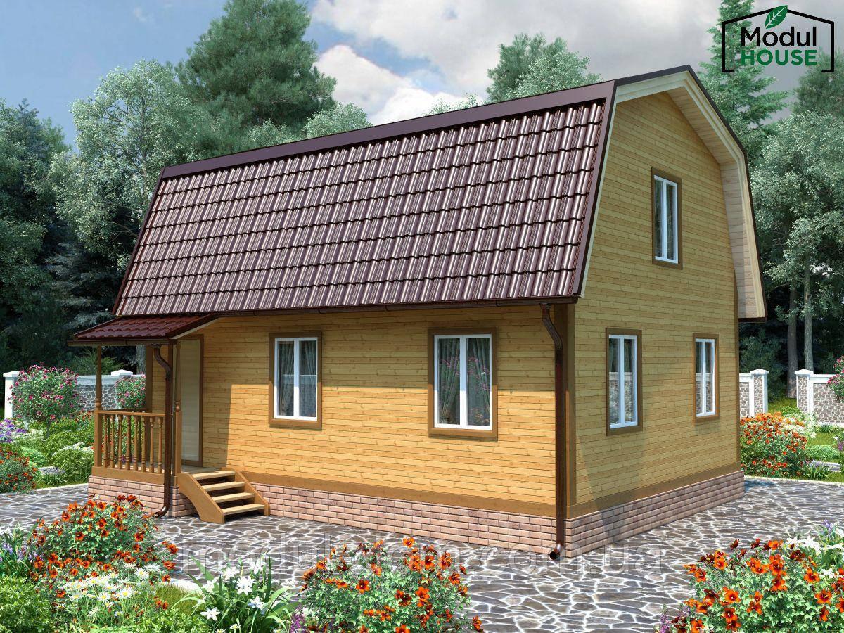 Модульные дома под ключ, Модульный дом для постоянного проживания, Модульные дачные дома