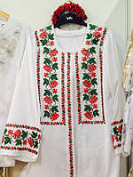 Заготовка жіночої сорочки для вишивки нитками/бісером БС-76