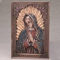 """Икона """"Дева Мария"""" (15*23 см) / бронза"""