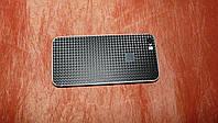 Декоративная защитная пленка для Iphone 5S,карбон черный кубик