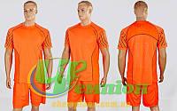 Футбольная форма для команд подростковая Match CO-1006B-OR (XS-L,8-14лет,рост 135-170см,)