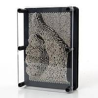 Сyвeнир Пин арт Гвоздики 3D, pin art 3d, экспресс-скульптор Гвозди ART-PIN, средние, фото 1