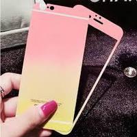 Защитная пленка iPhone 5 Двухсторонняя цветная