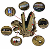 Рюкзак військовий тактичний штурмової Molle, фото 2