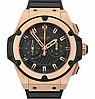 Часы Hublot King Power Black Gold (Механика). Реплика