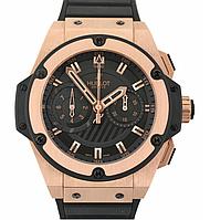 Часы Hublot King Power Black Gold (Механика). Реплика, фото 1