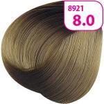 Стойкая СС крем-краска для волос KRASA с маслом амлы и аргинином тон 8.0 Светлый блондин