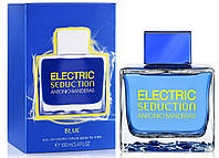Оригинал Antonio Banderas Electric Blue Seduction Men 100ml edt  Антонио Бандерас Электрик Блю Седакшн Мен