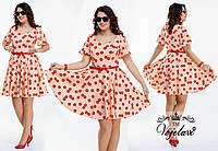 Платье, 018 ОКА батал, фото 1