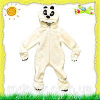 Детский махровый комбинезон для малышей Панда