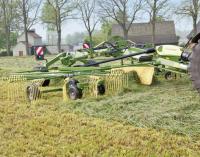 Валкователь прицепной двухроторный Кроне Свадро (Krone Swadro) 620 TS купить у ТРИА в Украине