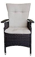 Кресло плетёное Целан - ротанговое кресло садовое, мебель для улицы, уличное кресло, кресло из ротанга