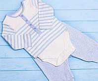 Комплект (бодік і штани) для немовлят 6-9міс CooChiCoo, Англія, фото 1