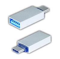 Адаптер Wiretek WK-AUC, USB Type C to AF