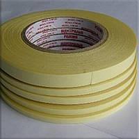 От 4мм до 1000мм\50метров       Прозрачная лента (плёночная основа / лайнер - бумага жёлтого цвета).