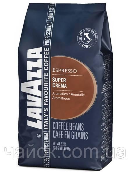 Кофе в зернах Лавацца  LAVAZZA Super Crema  1 кг зерно