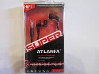 Наушники Atlanfa в ассортименте ( пластиковая коробка), фото 1