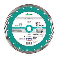 Алмазный диск Distar Turbo Expert 230 (бетон слабоармированный, тротуарная плитка, пенобетон, кирпич)