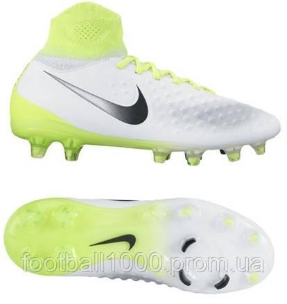c4e3c16e Детские футбольные бутсы Nike Magista Obra II FG 844410-109: продажа ...
