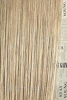 Нитяные шторы с люрексом (бежевый с серебрянным люрексом)