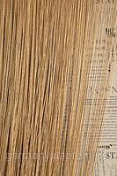 Нитяные шторы с люрексом (бежевые с золотым люрексом)
