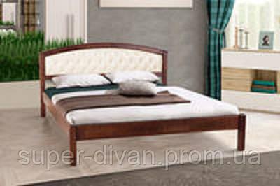 Кровать Джульетта - Мягкое изголовье (Ольха) 1,4