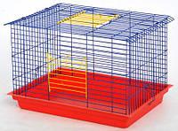 Клетка Кролик -макси для грызунов, неразборная  565х400х360 мм