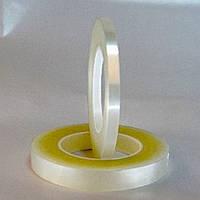 От 4мм до 1000мм\50метров     Ультрапрозрачная лента (плёночная основа / лайнер - ультрапрозрачная плёнка ПЕ).