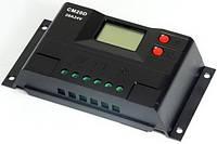 Контроллер заряда CM20D+USB (20A 12/24В) с дисплеем