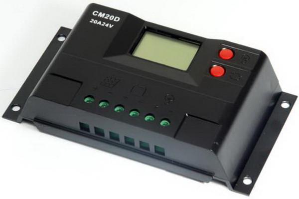 Контроллер заряда CM20D+USB (20A 12/24В) с дисплеем - ЭНЕРГИЯ ПРИРОДЫ в Черновцах